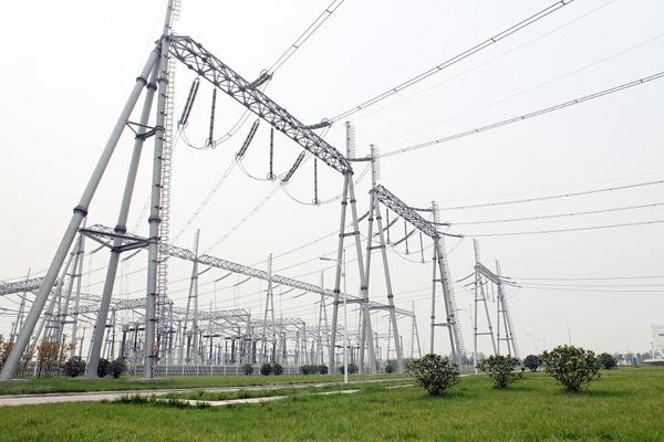 变电站构架,输电线路铁塔,变电站构架设计生产厂家